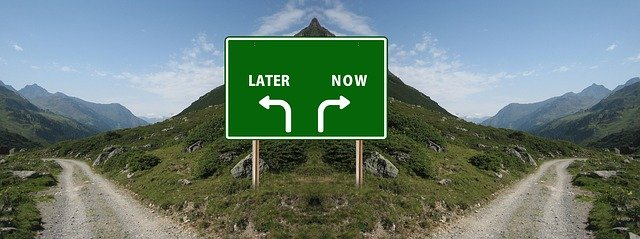 No More Procrastination – Starting Next Monday